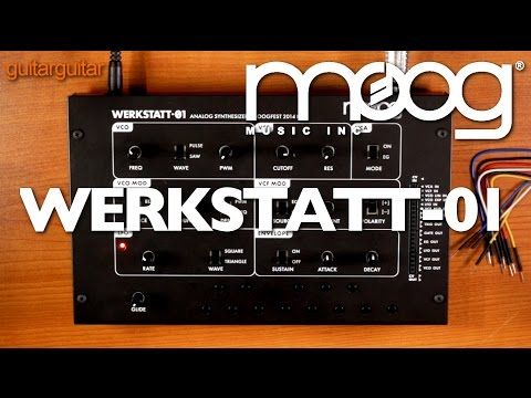 Moog Werkstatt-01 Analogue Synth Demo