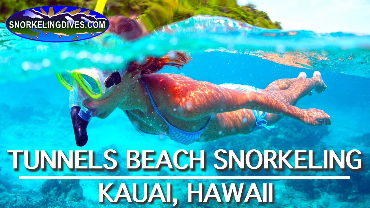 Best Tunnels Beach Snorkeling Kauai