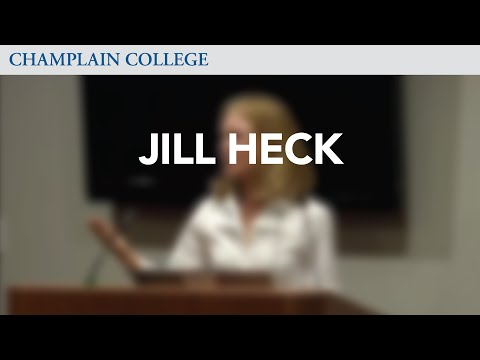 Jill Heck: Speaking from Experience