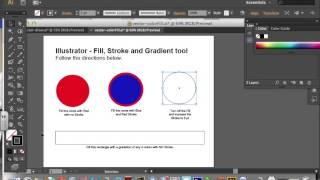 Illustrator Basics : Using Fill, Stroke and Gradient Tools