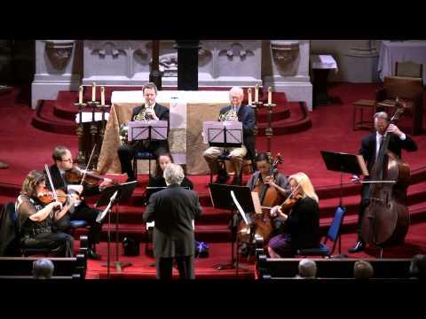 Midsummer Mozart Festival Orchestra performs Mozart Divertimento for Oboe-Horn-Strings, K.251