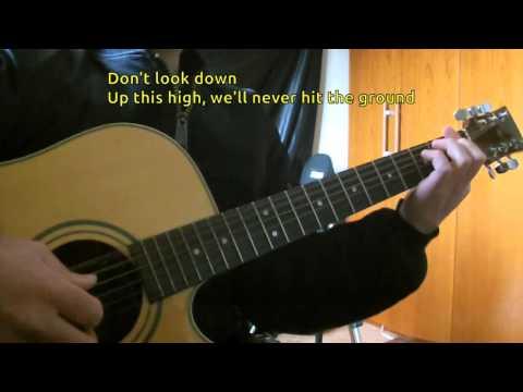 Martin Garrix feat. Usher - 'Don't Look Down' KARAOKE GUITAR REQUEST