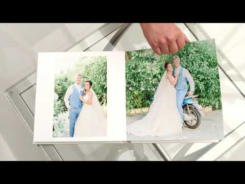 A recent wedding album I made for one of my lovely couples