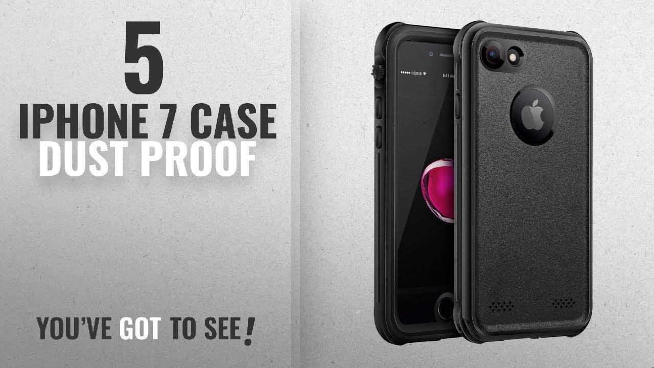 cheaper 1b499 b01f2 Top 5 IPhone 7 Case Dust Proof [2018 Best Sellers]: SHARKCASE iPhone 7  Waterproof Case, Clear