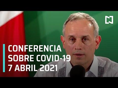 Informe Diario Covid-19 en México - 7 abril 2021