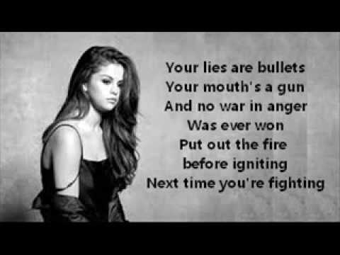 Selena Gomez  Kill em with kindness Lyrics