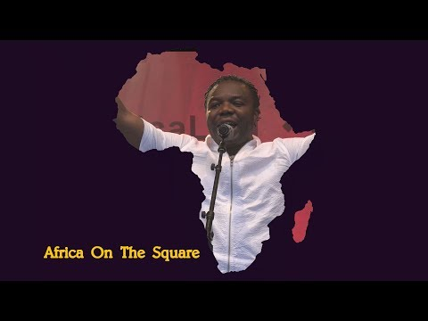 Africa on the Square 2017  –  Djembe Thunder (Mali) - Trafalgar Square London