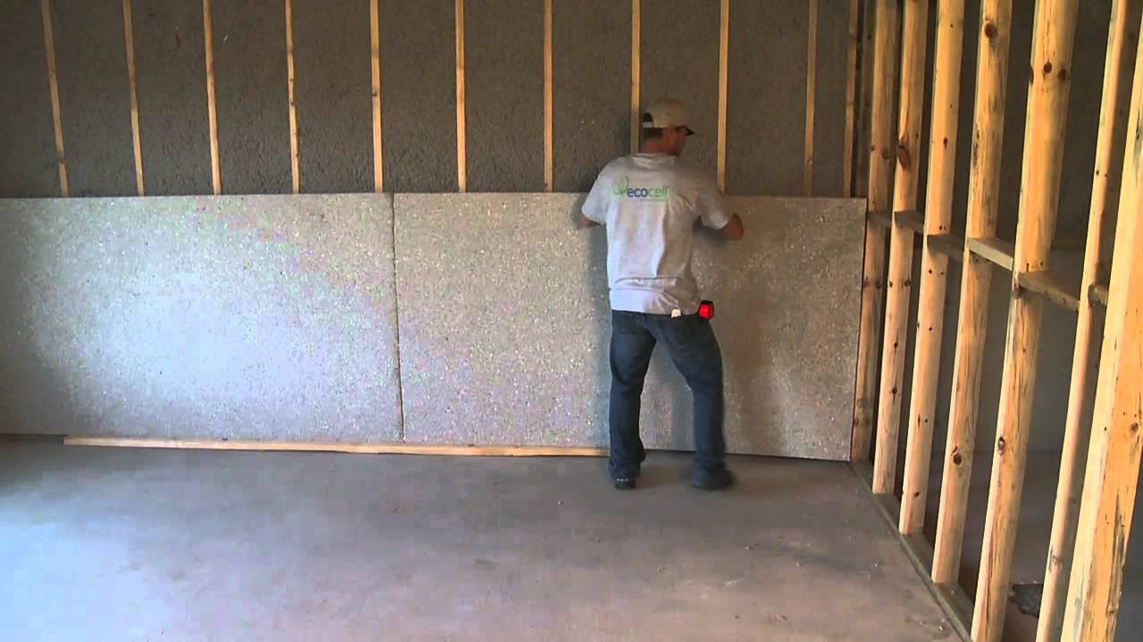 Ecocell blanket insulation by cellulose material solutions for Blanket insulation basement