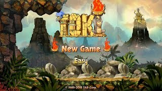 Toki for Nintendo Switch | First 3 Stages & Boss Battle Gameplay (Direct-Feed Switch Footage)
