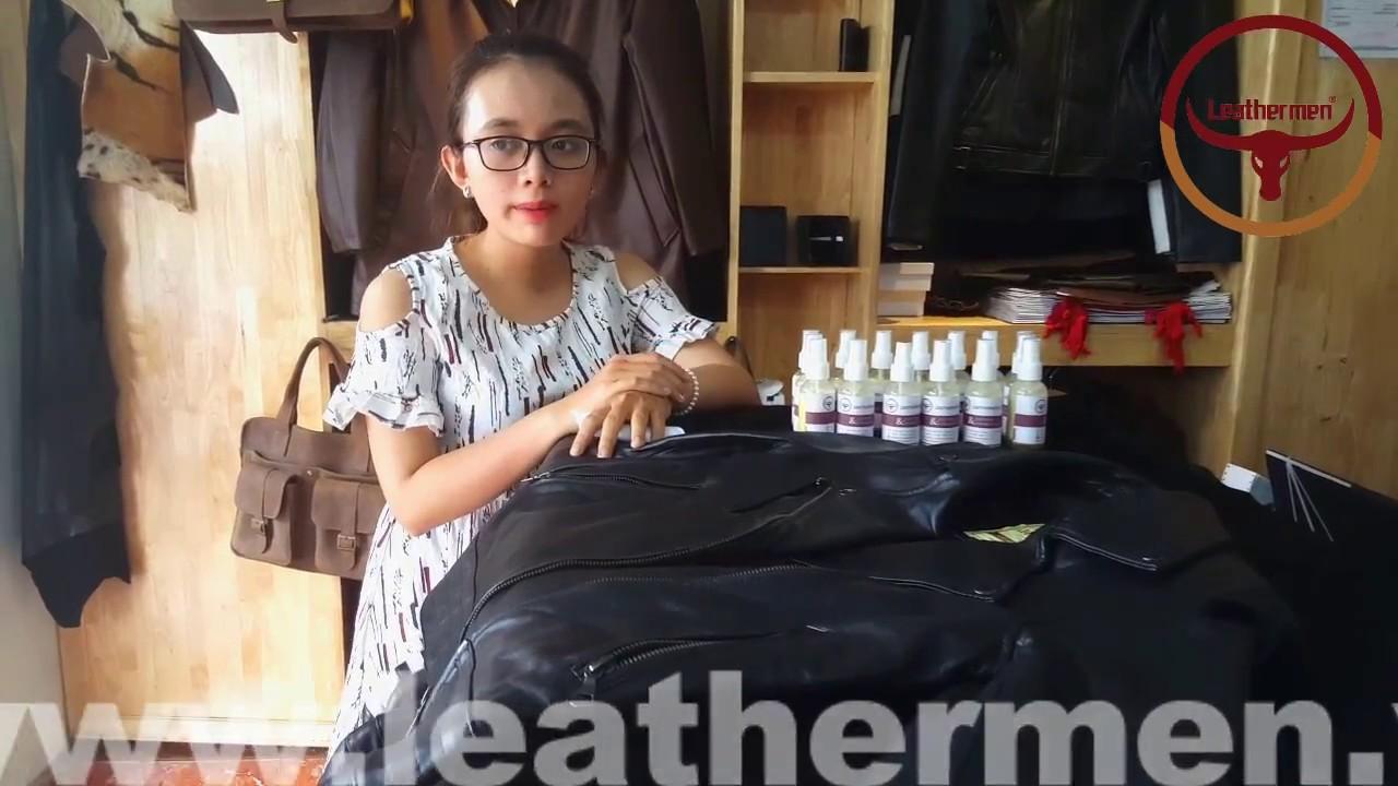 cách vệ sinh, bảo quản và làm mới áo khoác da thật