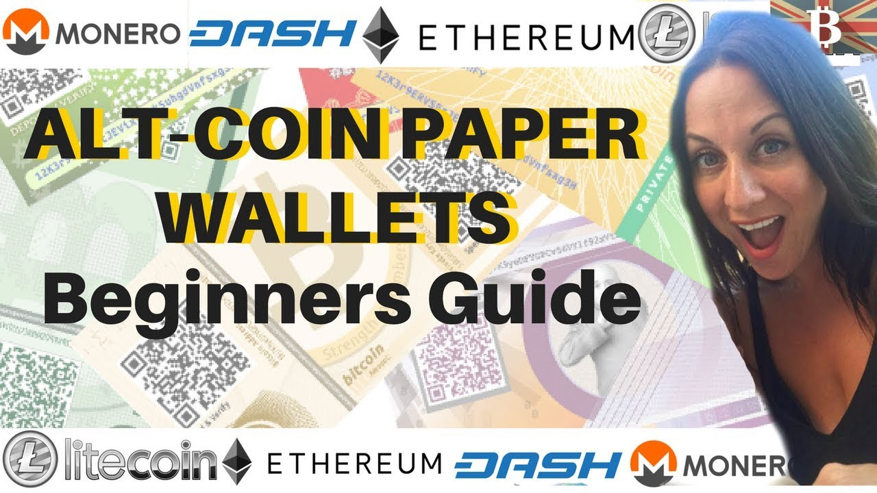 how to create a paper wallet for every cryptocurrency