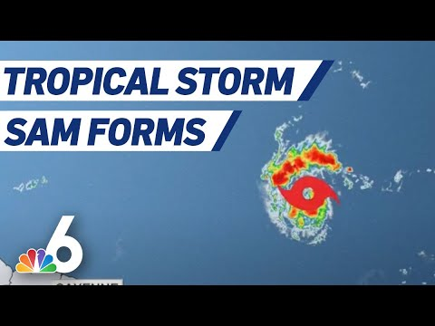Tropical Storm Sam Forms in the Atlantic