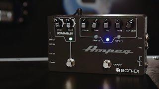 Ampeg SCR-DI Bass DI Preamp with Scrambler Overdrive Pedal