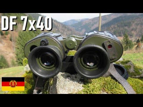 Zeiss NVA DF 7x40 | East German Army Binoculars | Fernglas Dienstglas |  бинокль