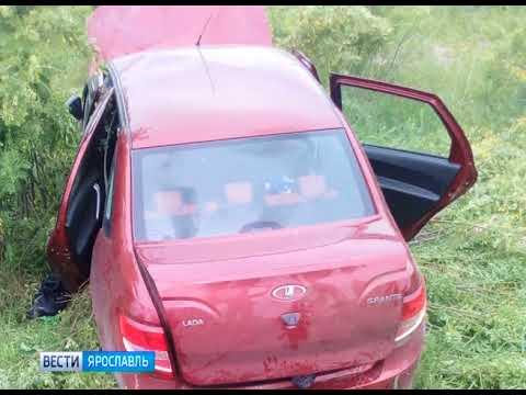 В ДТП на трассе Ярославль-Рыбинск пострадали дети
