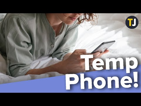 How to Get a Free Temporary Phone Number!