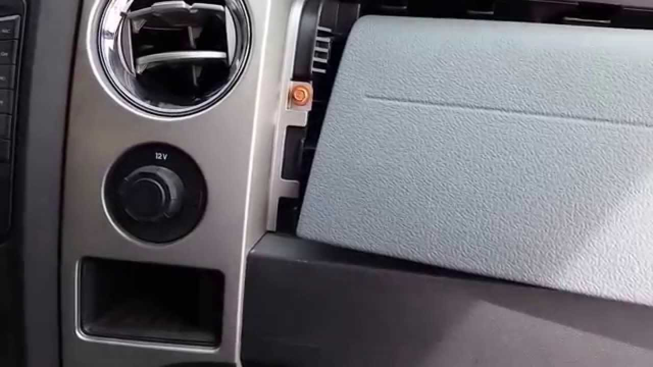 Remove 2009 2014 F150 Center Console Stereo Youtube
