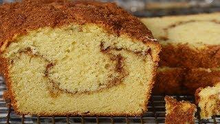 Cinnamon Swirl Coffee Cake Recipe Demonstration - Joyofbaking.com