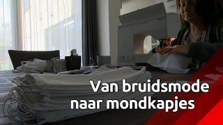 Van bruidsmode naar extra mondkapjes: coupeuse uit Zevenbergen springt bij