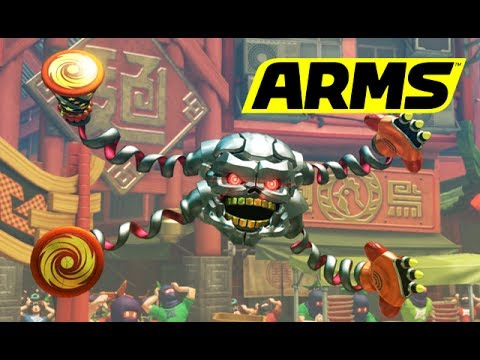 ARMS - Hedlok [Nintendo Switch]