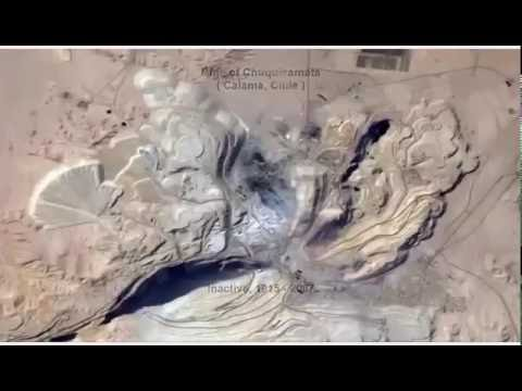 Amazing Open-pit Mines in The World (diamonds, gold, silver, copper)