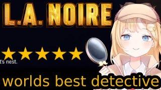 "【L.A. NOIRE】Amelia the worlds greatest ""detective"""