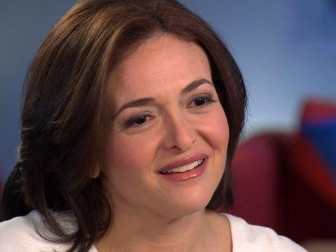 """Sheryl Sandberg pushes women to """"lean in"""""""