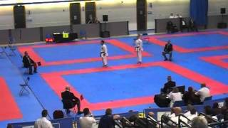 Jonathan Mottram - English Karate Federation 2011 - Kata Final - Kanku Sho