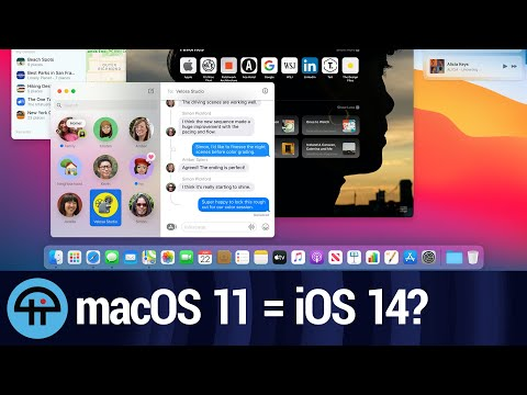 How Much Will macOS 11 Merge with iOS?