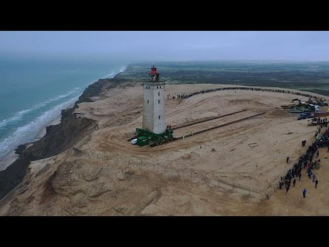 شاهد: عملية نقل منارة عملاقة يبلغ وزنها 1000 طن في الدنمرك…  - نشر قبل 7 دقيقة
