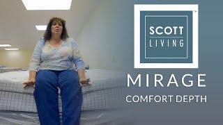 Restonic Scott Living Mirage Euro Top Mattress Comfort Depth 2