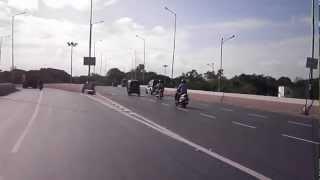 Holkar Bridge, Pune a connecting flyover over BEG Road.