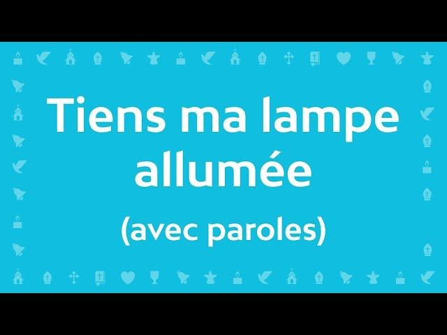 Jean-Claude Gianadda - Tiens ma lampe allumée | Chant chrétien avec paroles pour le Carême et Pâques