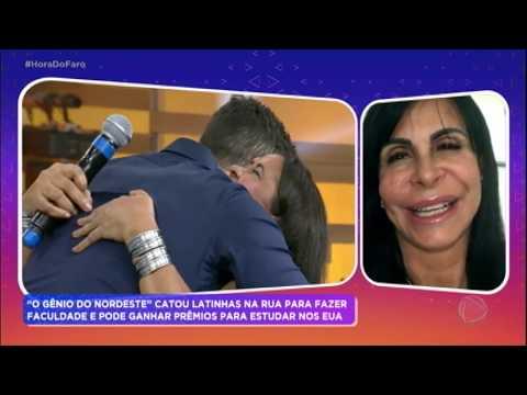 Mãe de Ciswal se apresenta ao som de Gretchen para ajudar o filho