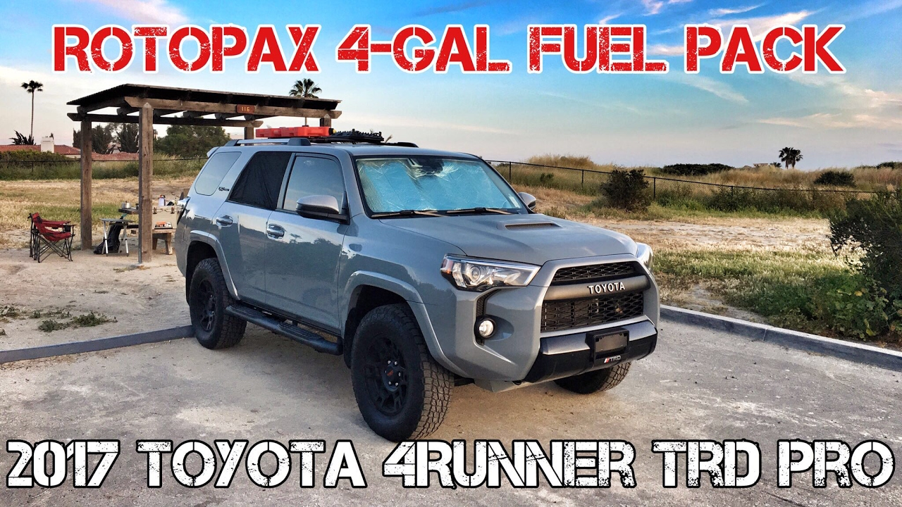 Part15 2017 4runner Trd Pro Cement Rotopax 4 Gal Fuel