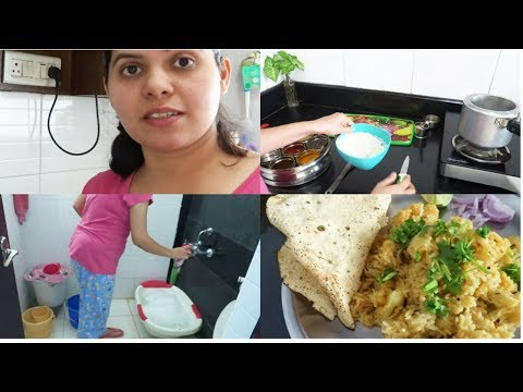 Indian Simple,healthy and quick lunch routine|One-Pot Meal|Maharashtrian Masala bhat