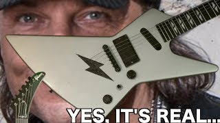 That's a Freaky Explorer! | 1989 Gibson Matthias Jabs E90 Double Luna Silver | Review + Demo
