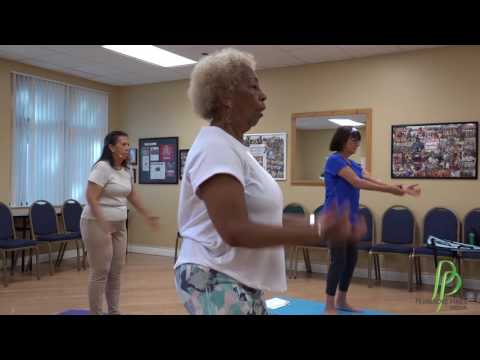 Yo Chi Lates Exercise with Lana Gelb at the Carl Shechter Southwest Focal Point Community Center