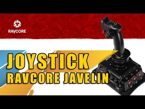 Prezentacja i recenzja Ravcore Javelin   Jaki joystick do FSX, P3D, Condor, War Thunder?