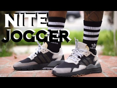 online retailer a325c a9bb3 ADIDAS NITE JOGGER CARBON GRAY ON FEET REVIEW