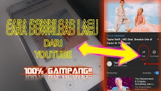 CARA DOWNLOAD LAGU DARI YOUTUBE 100% GAMPANG!!🔥🔥