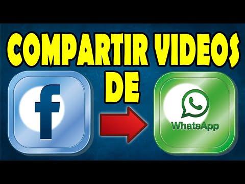 Compartir Videos de Facebook a Whatsapp