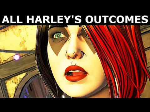 All Harley Quinn's Endings & All Final Outcomes - BATMAN Season 2 The Enemy Within Episode 5