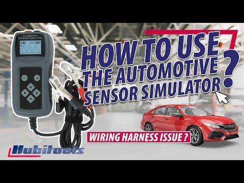 How To Check The Sensors And Harness ? - Hubitools HU31035 Sensor Simulator
