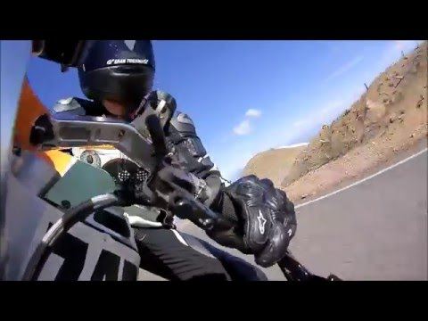PIKE'S PEAK race - Team RONIN 2015 Travis Newbold