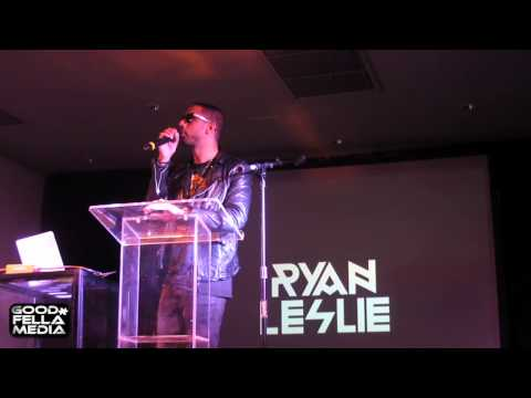 Ryan Leslie talks working with Kanye West, and drops some powerful inspirational words.