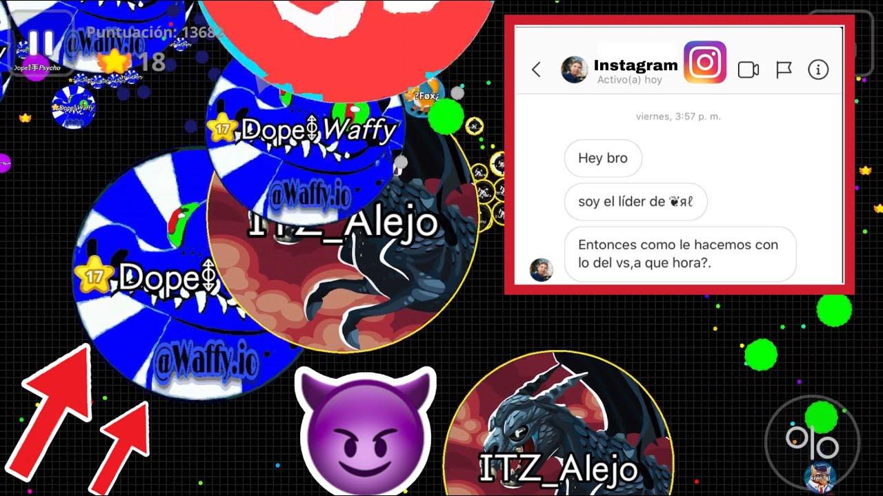 ITZ VS RL! (Agar.io Mobile Gameplay!)