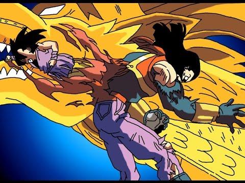 Dragon ball xenoverse super 17 vs goku super saiyan 4 - Dragon ball xenoverse ss4 vegeta ...