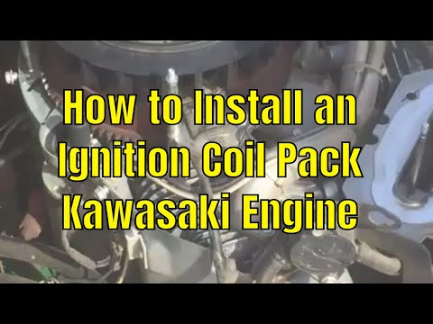 Install an Ignition Coil Pack on a Zero Turn Mower - Kawasaki Engine