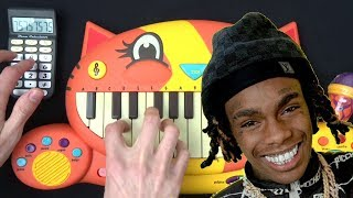 YNW MELLY - MURDER ON MY MIND BUT I PLAYED IT ON A CAT PIANO AND A DRUM CALCULATOR
